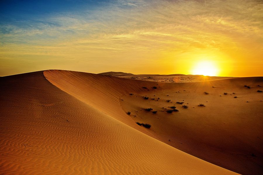 from dubai sunrise desert safari with private car