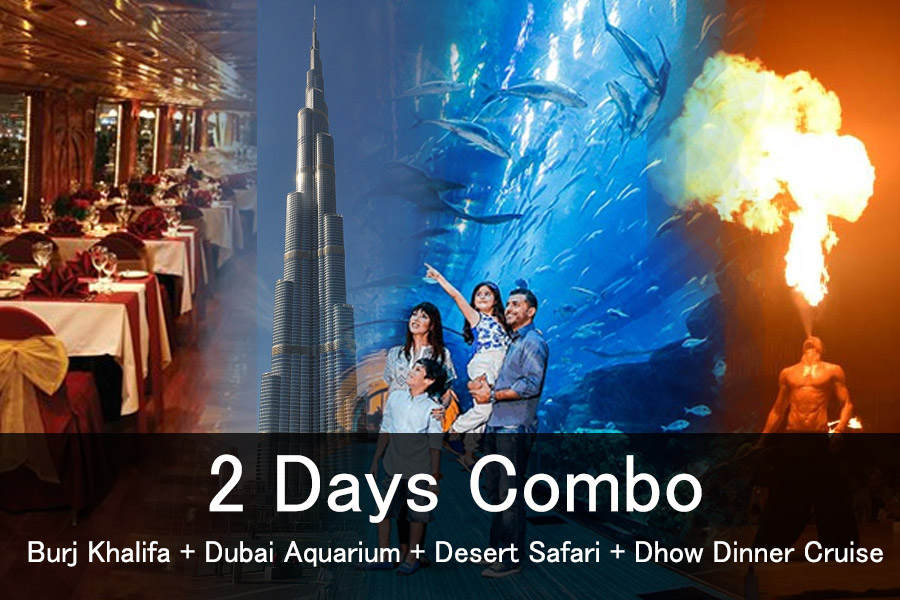 2 Days Combo tour dubai