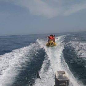 Musandam Day Trip Banana Boat Ride2