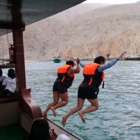 Musandam swimming